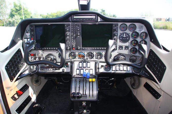 Glass Cockpit do P2006