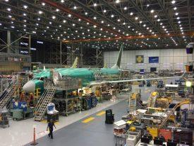 Aeronave de nº 2 na linha de montagem, em breve estará pronto. Foto - Paul Thompson