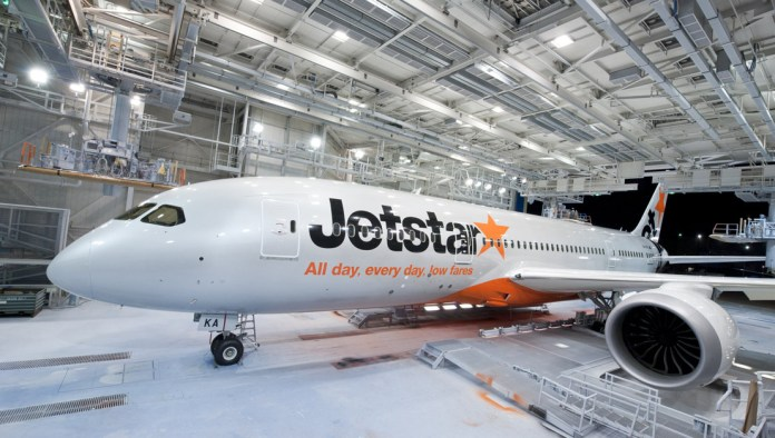 Our first Boeing 787 in its Jetstar livery_7