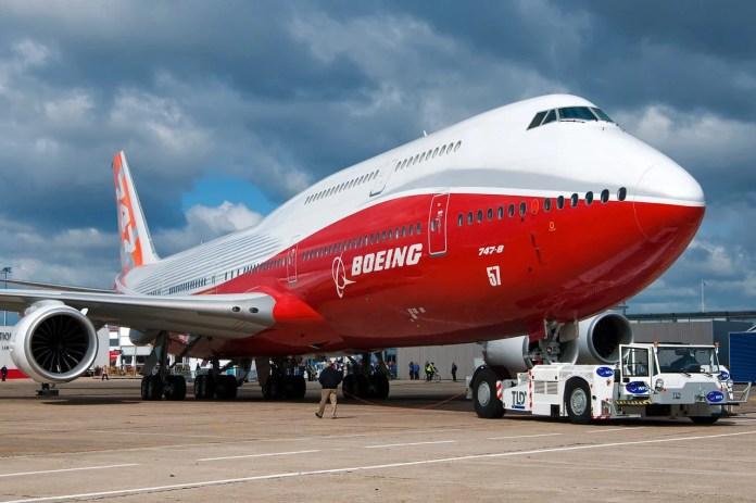 Boeing 747-8I. Foto : Wikipédia