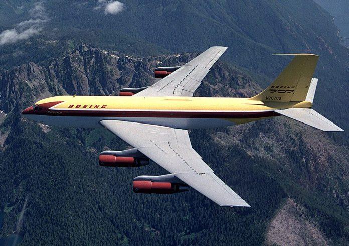 Dash 80 nome dado ao protótipo do Boeing 707.