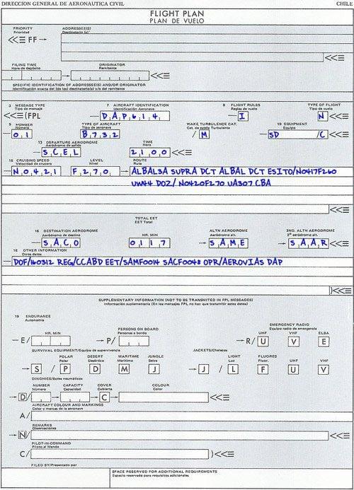 Plano de Voo Iron Maiden DAP
