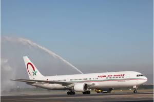Batismo do B767 da Royal Air Maroc - Crédito João Laet_Café das 4