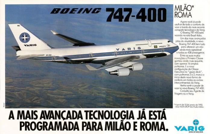 Boieing 747 Varig