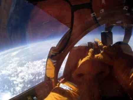 ER-2 em voo. Foto - NASA/Reprodução