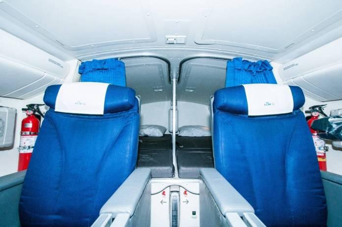 Local de descanso dos pilotos. Foto - Blog KLM/Reprodução