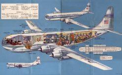 Boeing 314 em corte.