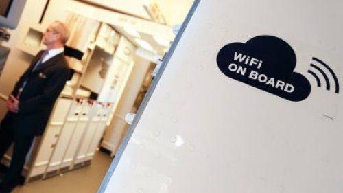O passageiro terá que desembolsar de 5€ até 30€ para usar internet a bordo.