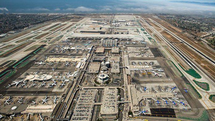 Aeroporto de Los Angeles American Airlines EUA