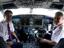Cockpit do 737 MAX | Photo: Daniel Tay