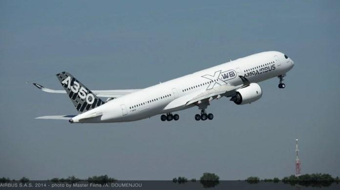 Airbus A350 Combustível Sustentável