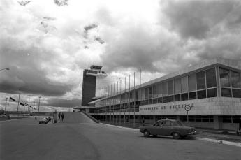 Aeroporto de Brasília em 1971. Foto - Arquivo Público do DF