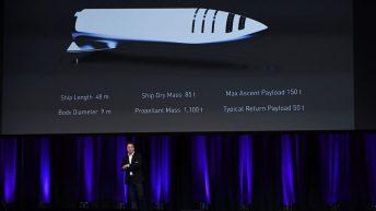 Elon Musk apresenta o BFR