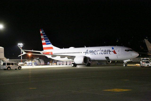 Boeing 737 MAX American Airlines EUA Brasil