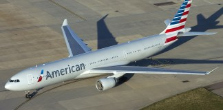 American Airlines Aeronaves Carbono