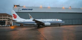 China Boeing 737 MAX