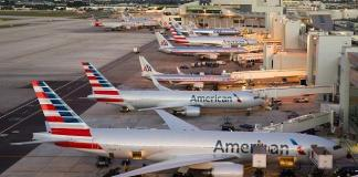 EUA Viagens Pandemia Aeroporto