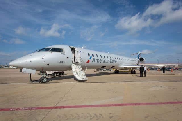 American Eagle Bombardier CRJ