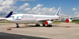 Airbus A340 França