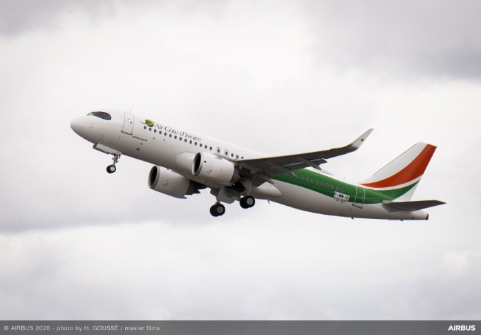 Airbus A320neo Air Côte d'Ivoire Costa do Marfim
