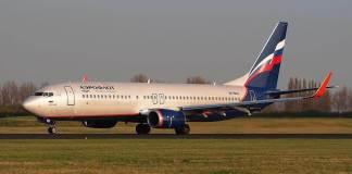 Boeing 737-800 Aeroflot Rússia