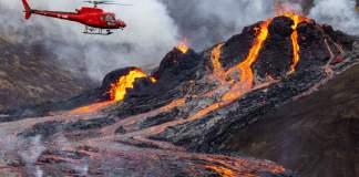 Vulcão na Islândia