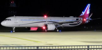 Airbus A321LR Titan Airways Royal Air Force Reino Unido