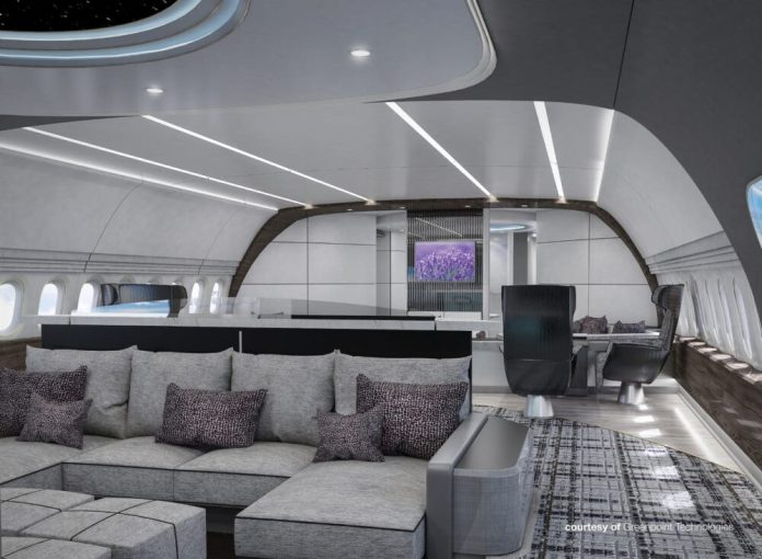 Boeing 777X BBJ Luxo Executivo