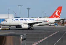 Airbus A319 Turkish