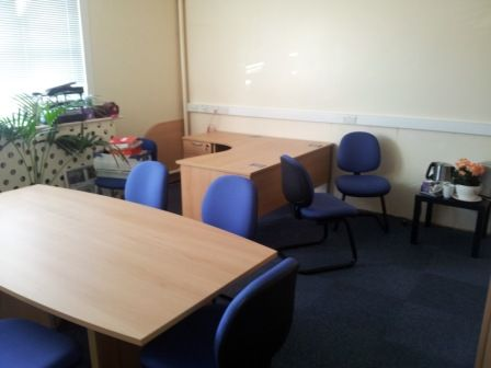 Headteachers Office Furniture at Woden Primary School