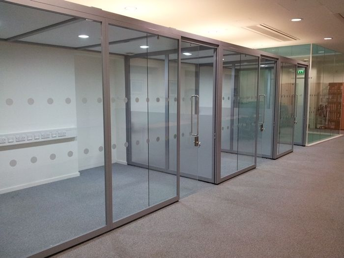 Quadro Freestanding Glass Offices  Beatson Institute  by