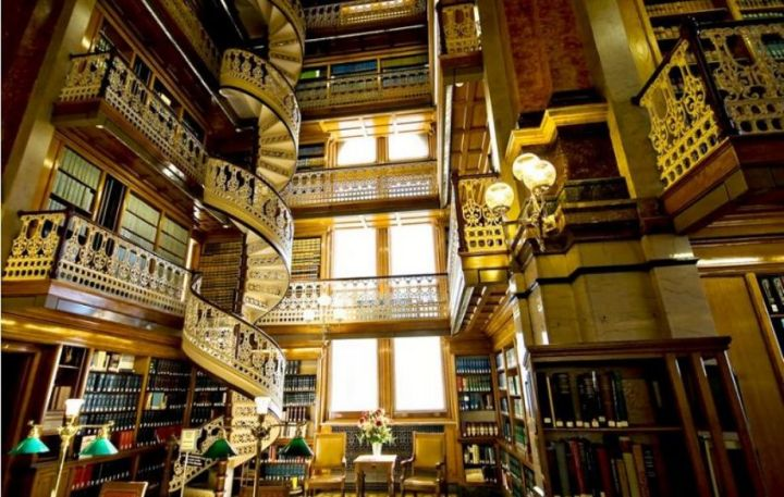 Public Library Hall of Llegal Literature of the Public Library of Iowa City, USA