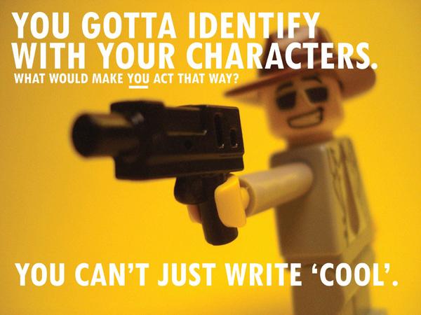 Pixar's Rules of Storytelling in Lego