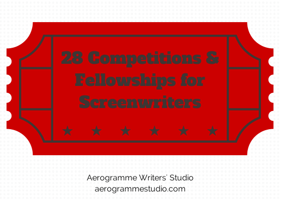 Competitions and Fellowships for Screenwriters