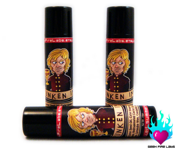 Christmas Gifts for Writers - Game of Thrones Lip Balm