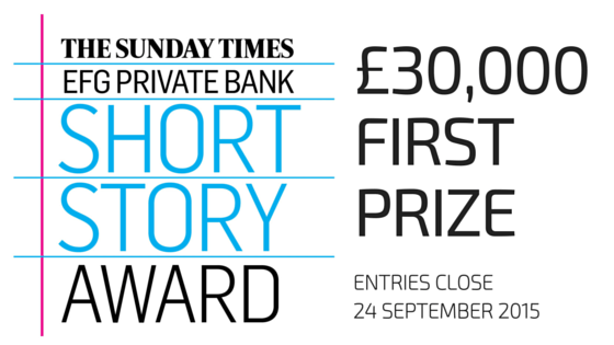 The Sunday Times Short Story Award 2016: Entries Now Open for the World's Richest Short Story Prize