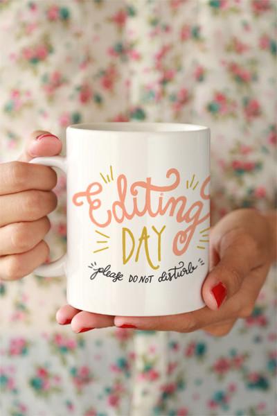 Editing Day Mug