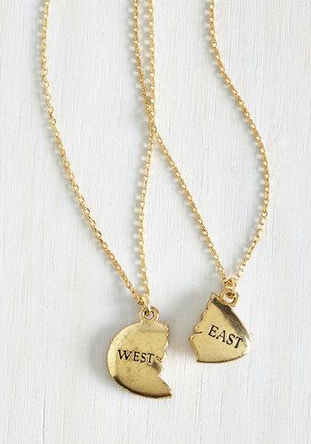 Gatsby's Green Light Necklace