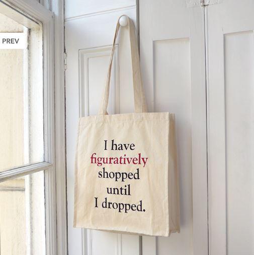 Literally Shopping Bag