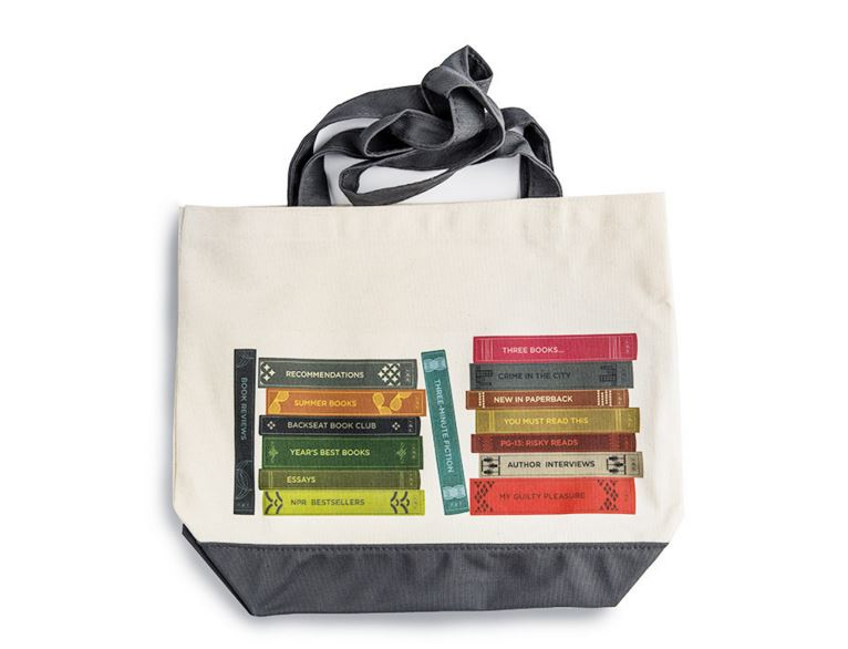 NPR Books Tote Bag