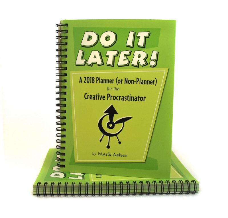 Do It Later Planner - Gifts for Writers