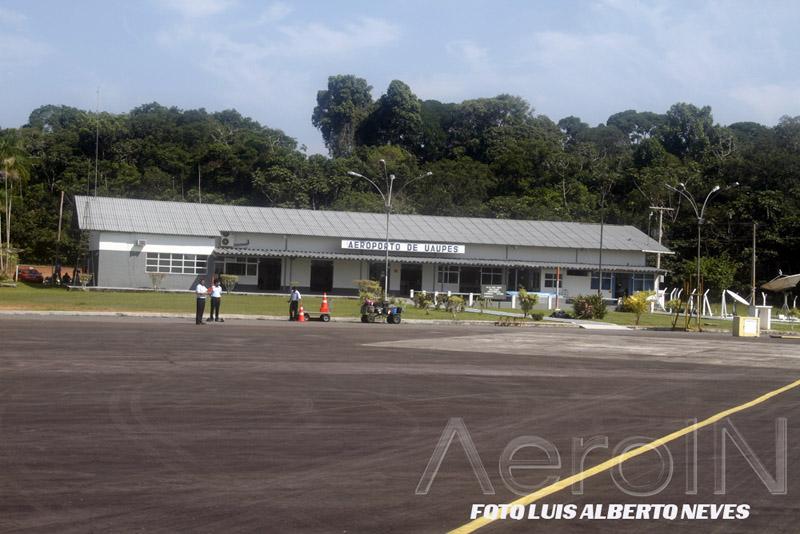 Aeroporto de Uapés, extremo norte do Brasil