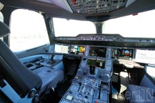 Avião Airbus A350 Cockpit Painel
