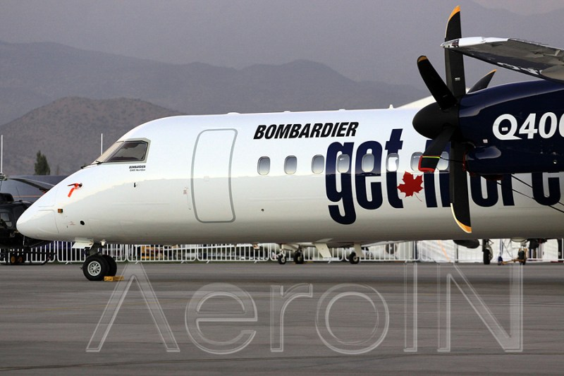 Avião Bombardier Dash 8 Q400