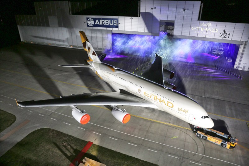 Etihad A380 New Livery Photo 1