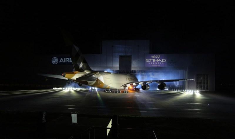 Etihad A380 New Livery Photo 2