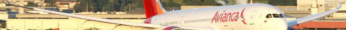 Avião Boeing 787-8 Dreamliner Avianca