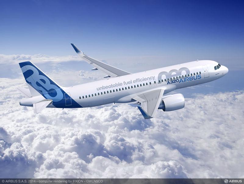 A320 Neo que, em breve, estará voando no Brasil.