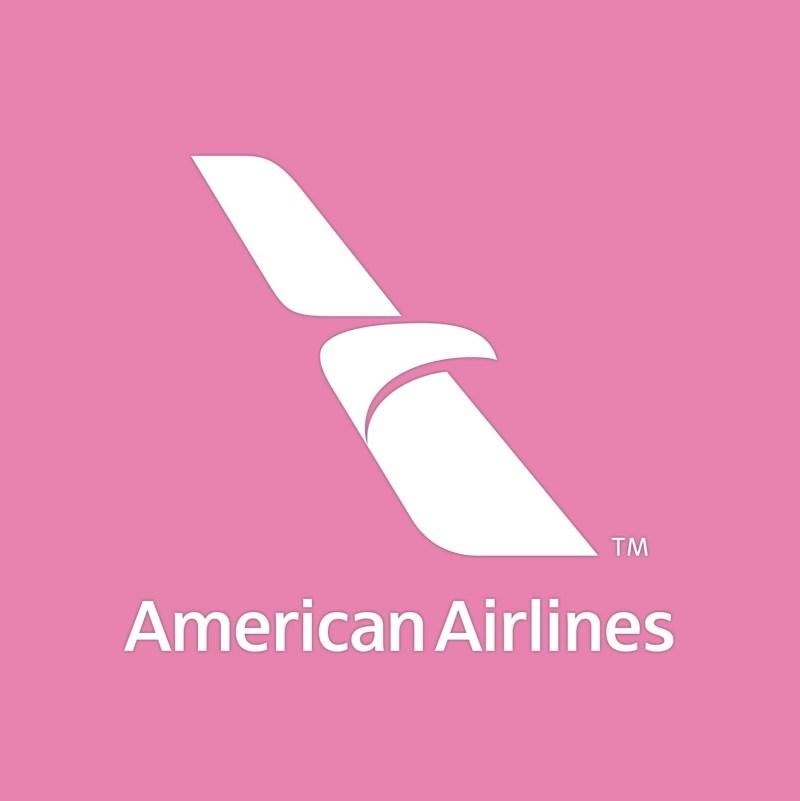 AmericanAirlines_BePink_flag