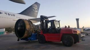 Ed Force One 747 Iron Motores 2